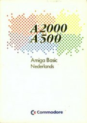 A2000 A500 Amiga Basic Nederlands
