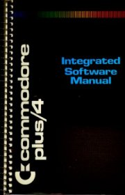 Integrated Software Manual Commodore Plus/4