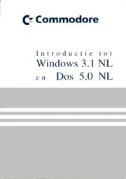 Introduction tot Windows 3.1 en Dos 5.0
