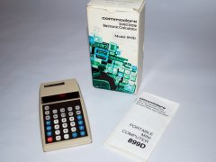 Commodore 899D with original packaging.