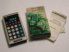 Commodore 9D-25 with original packaging.