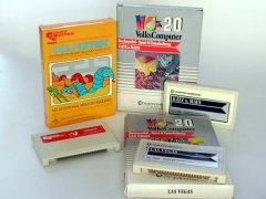 Commodore VIC-20 cartridges.