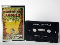 Commodore C64 game (cassette): Down at the Trolls