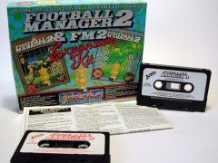 Commodore C64 game (cassette): Football Manager II