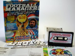 Commodore C64 game (cassette): Football Manager - World Cup Edition