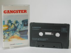 Commodore C64 game (cassette): Gangster