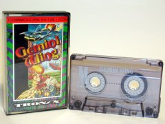 Commodore C64 game (cassette): Gemini Wing