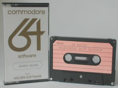 Commodore C64 graphical editor (cassette): Graphic Editor
