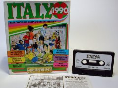 Commodore C64 game (cassette): Italy 1990