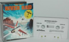 Commodore C64 game (cassette): River Raid