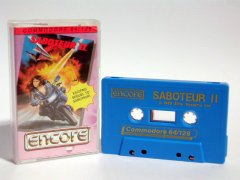 Commodore C64 game (cassette): Saboteur II