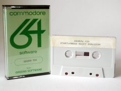 Commodore C64 game (cassette): Shadow Fox