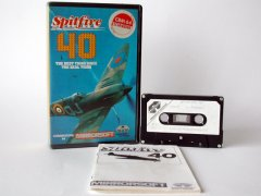 Commodore C64 game (cassette): Spitfire 40