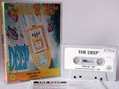 Commodore C64 game (cassette): The Deep