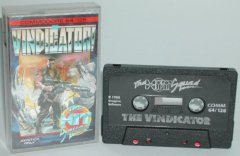 Commodore C64 game (cassette): The Vindicator!
