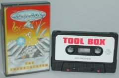 Commodore C64 graphical program (cassette): Toolbox - The Image System