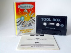 Commodore C64 music program (cassette): Toolbox - The Music System