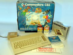 Commodore C64c - Music Maker and Image System