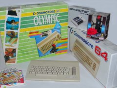 Commodore C64c - Olympic challenge