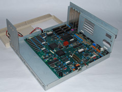 The motherboard of the Commodore Colt computer.