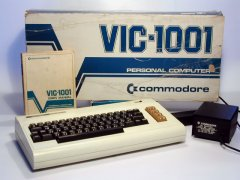 Commodore VIC 1001 with original packaging.
