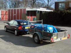 Transporting the Xtreme Commodore Logo.