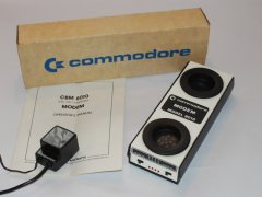The Commodore 8010 acoustic telephone modem.