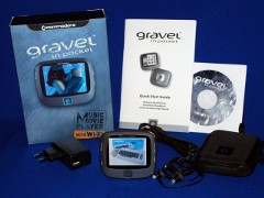 Commodore - Gravel in Pocket with original packaging.