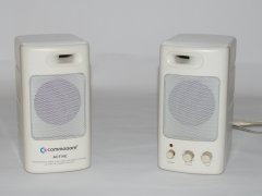 Commodore active speaker system.