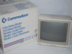 Commodore 1084S with original packaging.