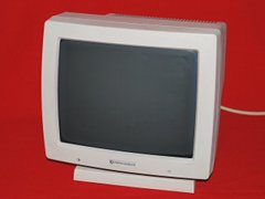 Front view of the A2024 monitor.