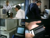 A Commodore PC, 1084 monitor and a Amiga 2000 in the TV-series Bergerac.