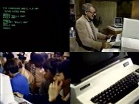 A Commodore CBM / PET and disk drive in the TV-show Bits and Bytes.