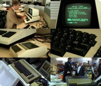 A Commodore PET, C64 and a Plus/4 Computer in the BBC TV-series Electric Dreams.