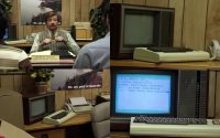A Commdoore VIC-20 in the TV-series Flight of the Conchords.