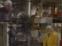 A Commodore 80xx-SK computer in the TV series Fraggle Rock.