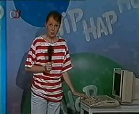 A Commodore Amiga 500 in the TV show Hip Hap Hop.