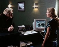 A Commodore Amiga 4000 keyboard and monitor in the movie Insomnia.
