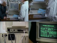 A Commodore Amiga 1500 and a Amiga 2000 in the TV-series Inspector Morse.