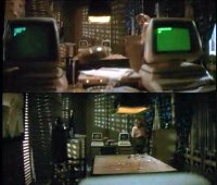 Commodore CBM-II in the motion picture: Jewel of the Nile