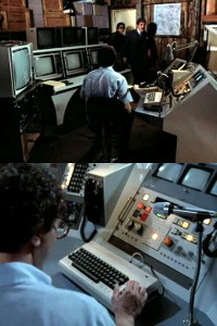 A Commodore C64 computer in the TV-series Remington Steele.