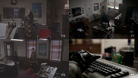 A Commodore PET2001N, C64, 1541 and a 1702 in the TV-series The Americans.