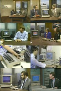 In the TV-program The Computer Chronicles: Commodore C64, SX-64, Amiga 1000, 1701, 2002, 1010 and a Koala Pad.