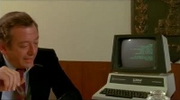 An Commodore CBM 40xx computer in the movie The Soldier.