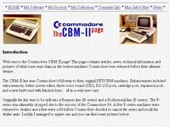 The CBM-II page