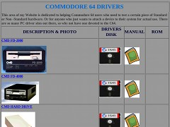 Commodore 64 drivers