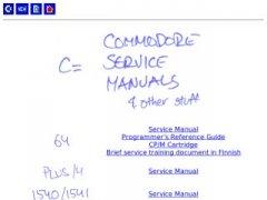 Commodore Service Manuals
