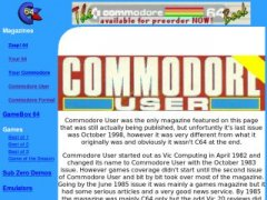 Commodore User magazine