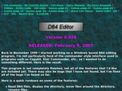 D64 Editor