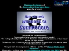 The secret weapons of Commodore
